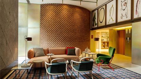 Oluce's bespoke service in the new Room Mate Giulia Hotel