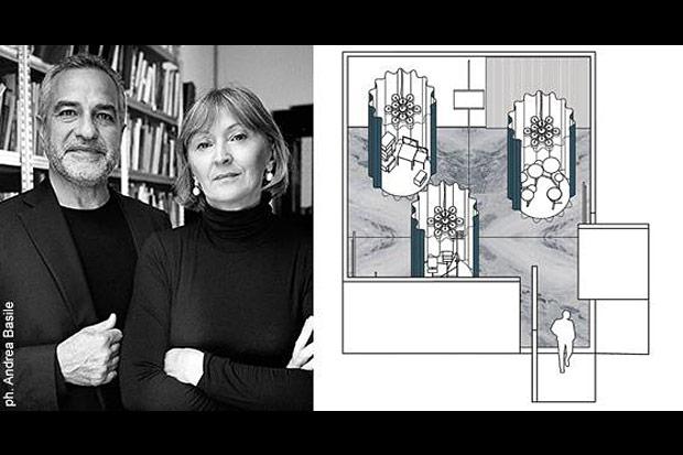 "Oluce at the ""Stanze. Altre Filosofie dell'abitare"" (Rooms. Novel living concepts) exhibition"