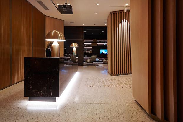 "Oluce lights up the hotel MeMilan ""Il Duca"""