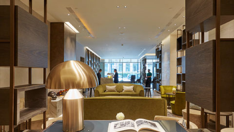 Oluce nel restyling dell'Hilton Hotel a Milano
