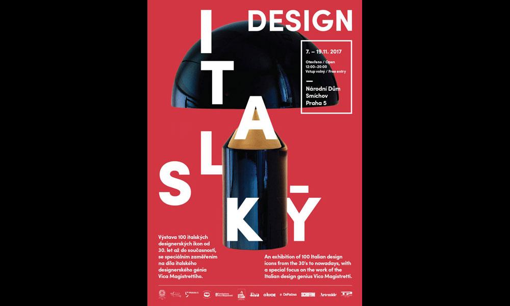 Oluce nella mostra sul Design Italiano a Praga
