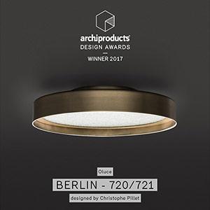 Berlin si aggiudica il premio Archiproducts Design Awards 2017 per la categoria Illuminazione