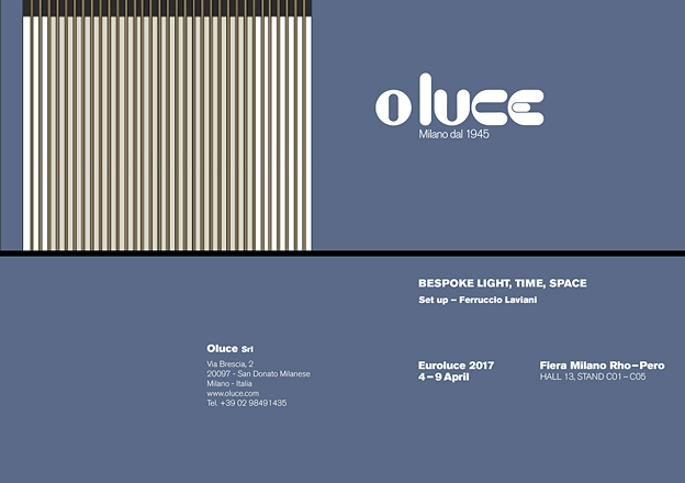Bespoke light, time, space - Euroluce 2017