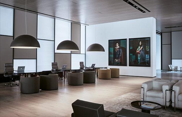 Oluce con Sonora nel nuovo Roomers Hotel firmato Lissoni Architettura