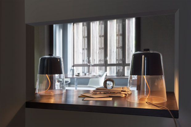 The new Oluce catalogue features made-to-measure light