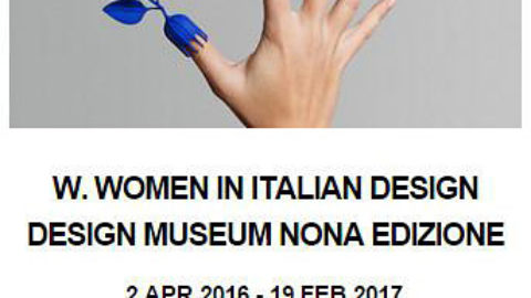 "Oluce pays tribute to women and design together with the ""W Women in Italian Design"" exhibition"