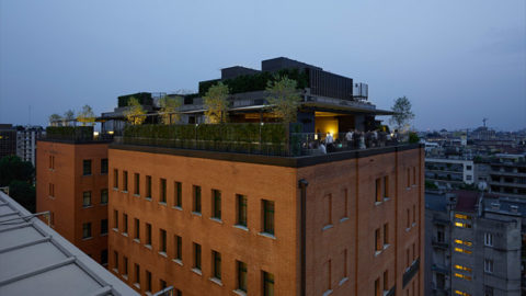 "Oluce lights up the hotel MeMilan ""Il Duca"""