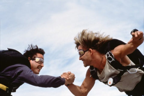 Oluce nella scenografia del remake americano di Point Break