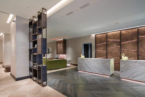 Oluce in the restyling of the Hilton Hotel in Milan