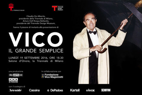 "The documentary ""Vico: il grande semplice"" to air on Sky Arte HD"