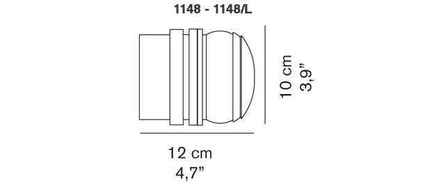 Fresnel 1148 - 1148/L silouhette