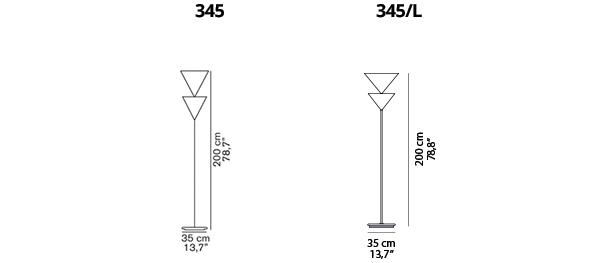 Pascal 345, 345L - Silhouette