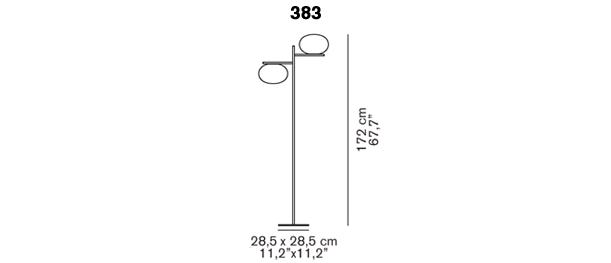Alba 383 silhouette