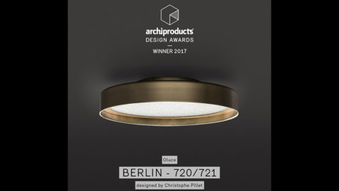 Berlin si aggiudica il premio Archiproducts Design Awards 2017 per la categoria Illuminazione