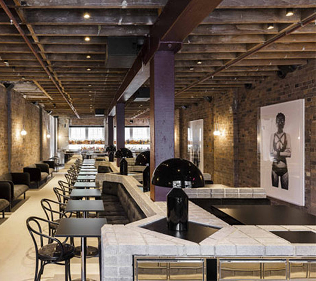 Chin Chin Restaurant, Sidney - Bespoke-Contract