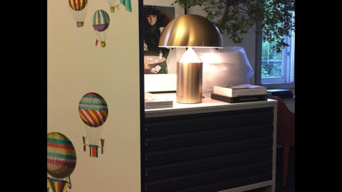 Oluce lamps light up the Salone del Mobile and the Fuorisalone
