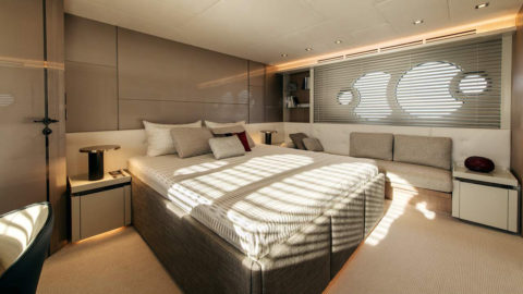 Oluce to feature in the new MCY 70 Vision by Monte Carlo Yachts
