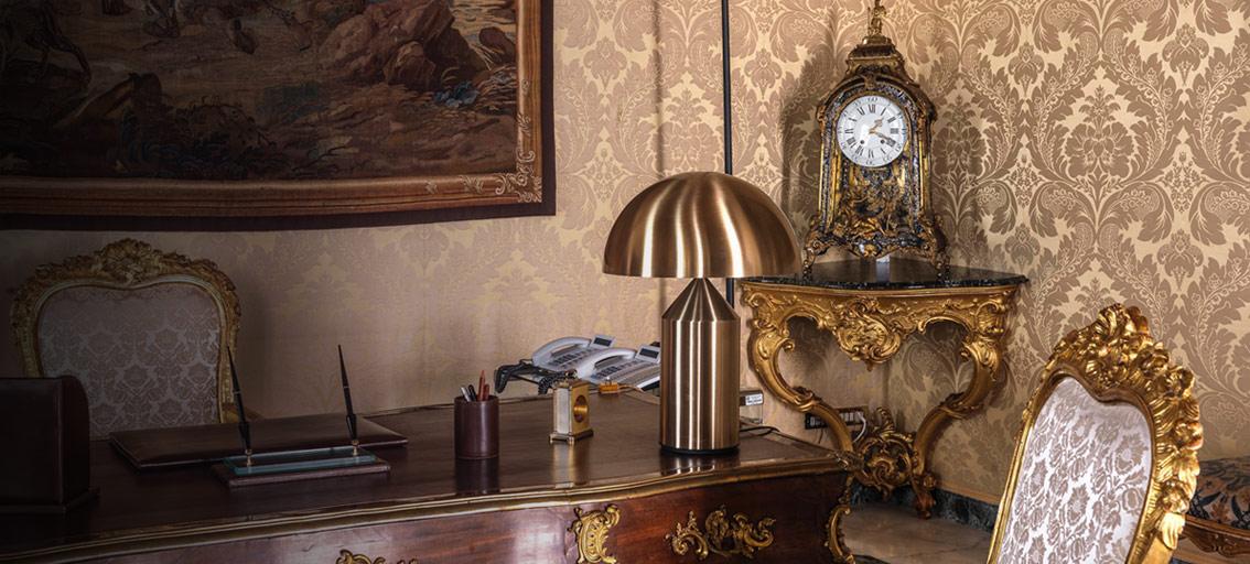 Atollo e Zanuso di Oluce tra gli oggetti selezionati per la mostra ''Quirinale contemporaneo''