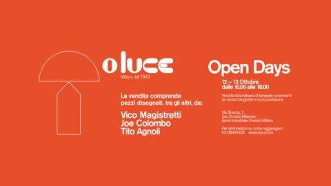 Oluce Open Days