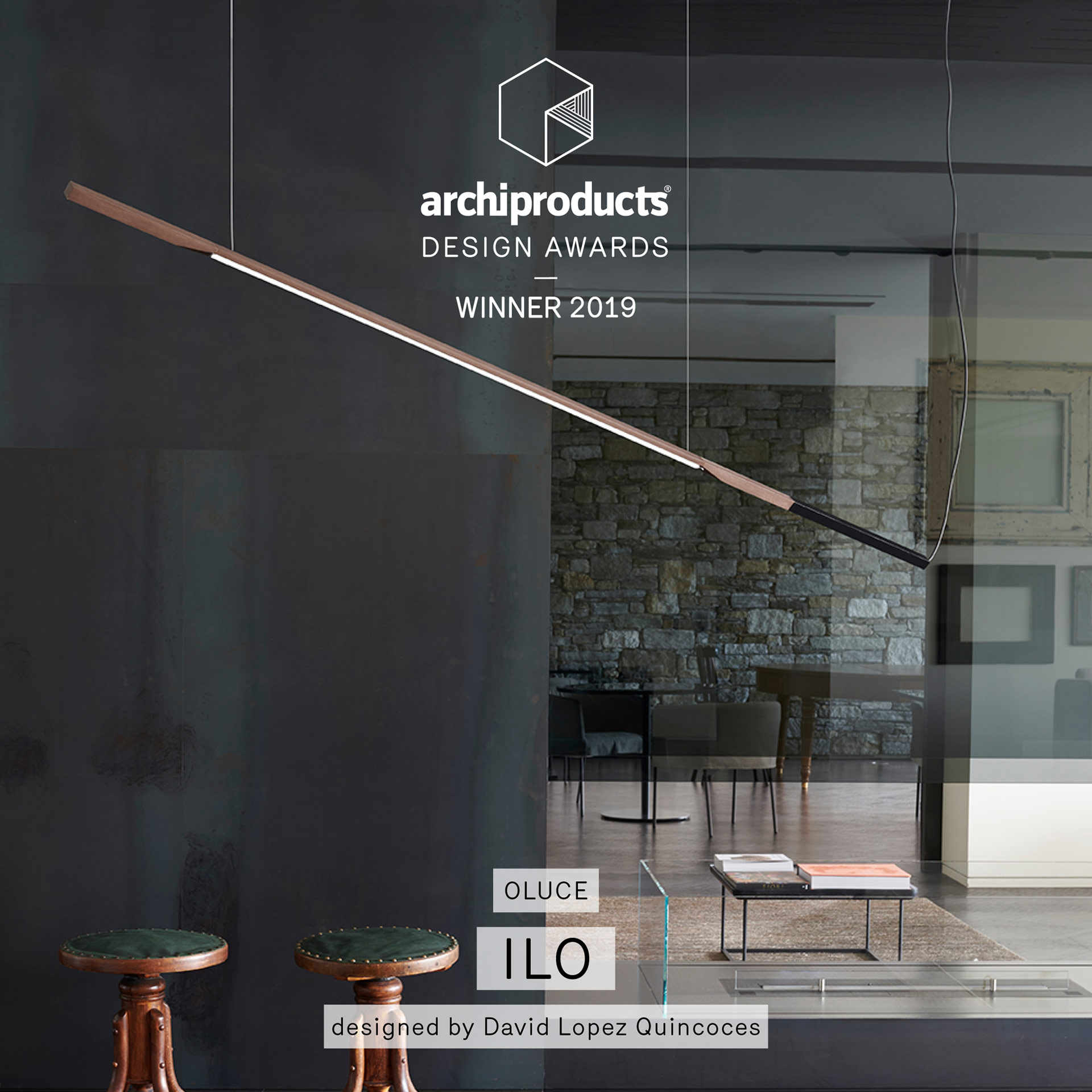 Ilo by David Lopez Quincoces wins the Archiproducts Design Awards 2019