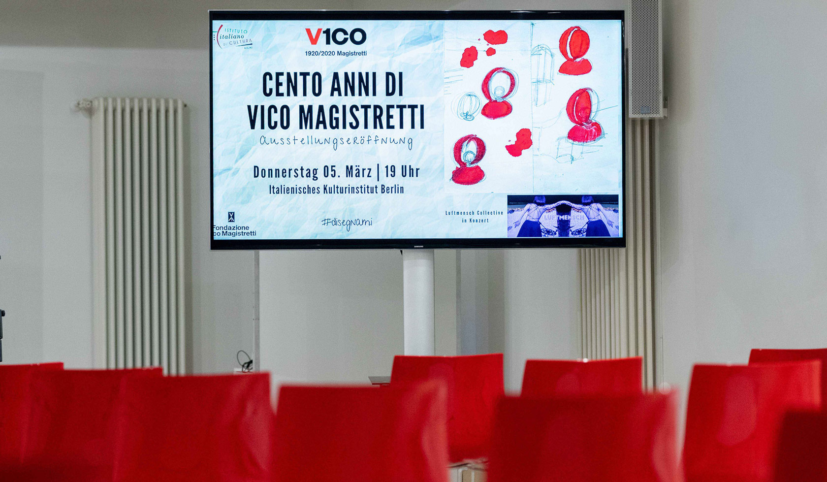 """Oluce tra i protagonisti della mostra itinerante """"100 Anni di Vico Magistretti"""""""