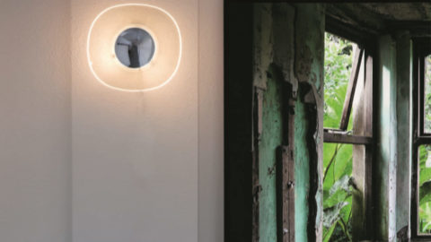 Wall lamps, light installations