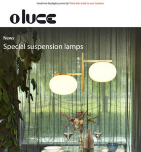 Special suspension lamps