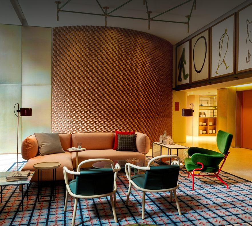 Room Mate Giulia Hotel, Milano.