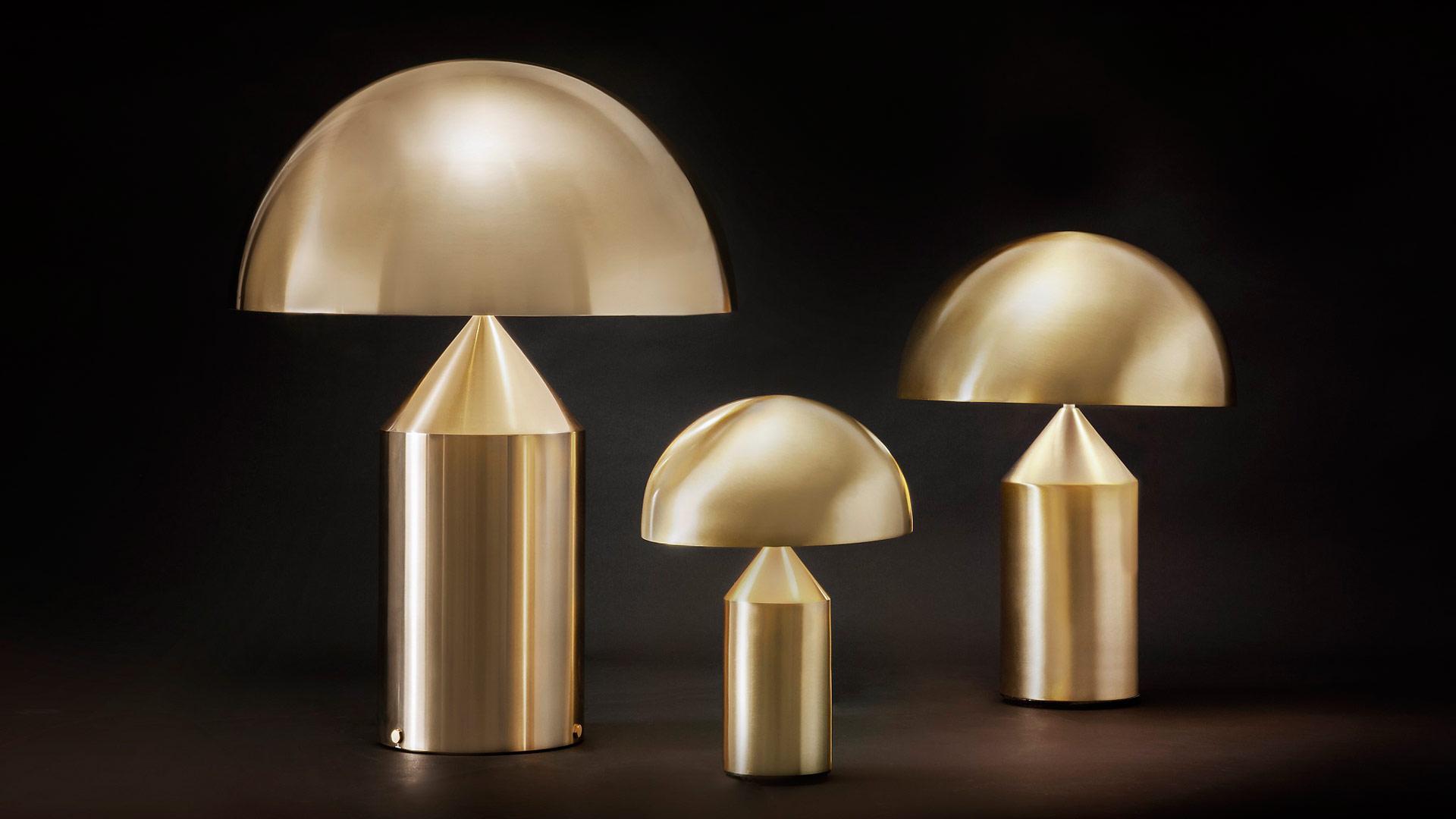 Oluce Gold – Lampade preziose per un Natale scintillante