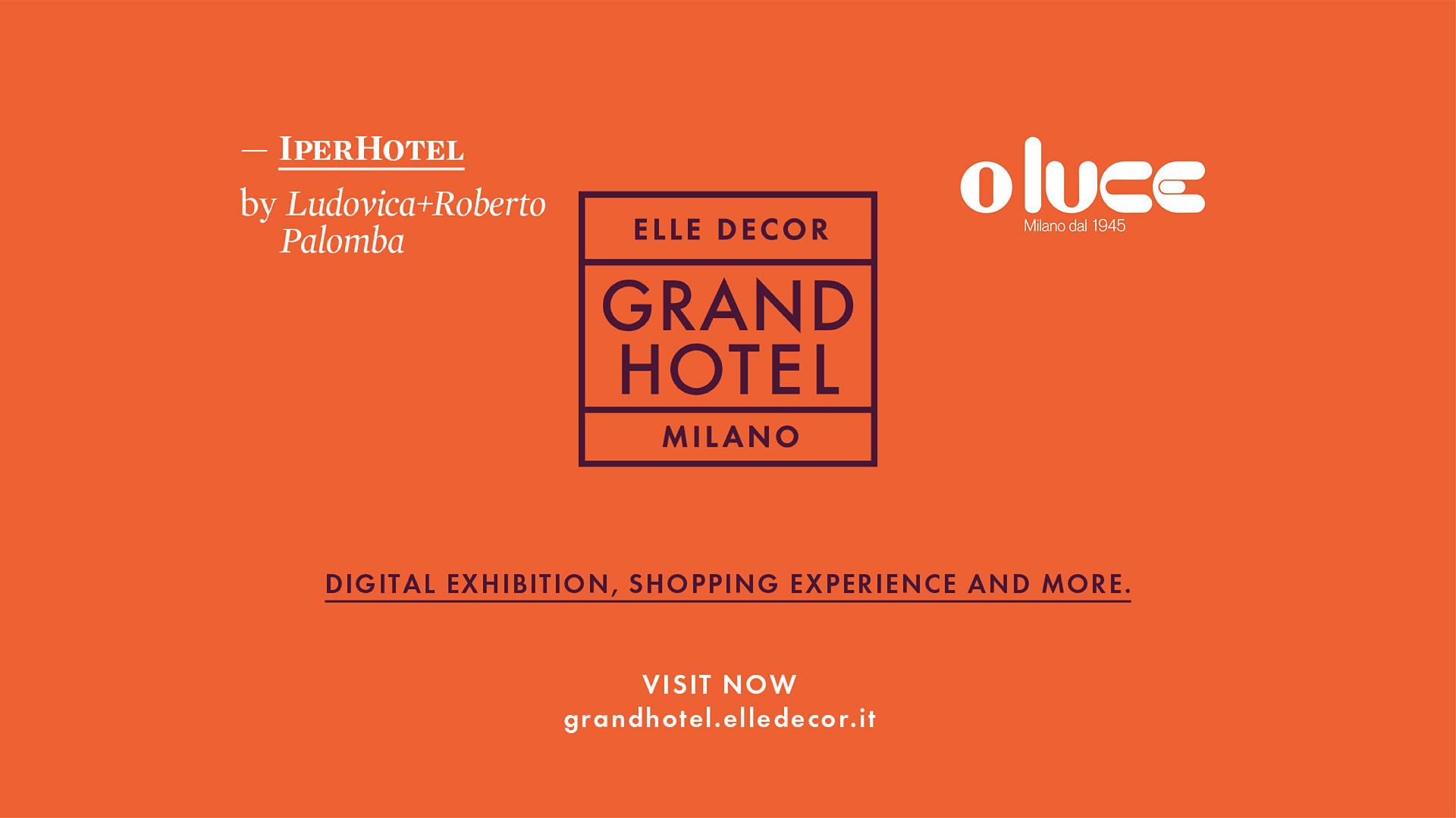 Atollo and Coupè illuminate the Grand Hotel of Elle Decor