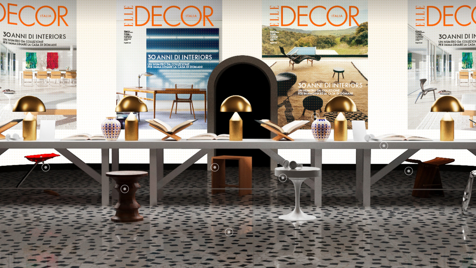 Atollo e Coupè illuminano il Grand Hotel di Elle Decor