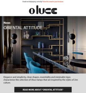 Oriental attitude