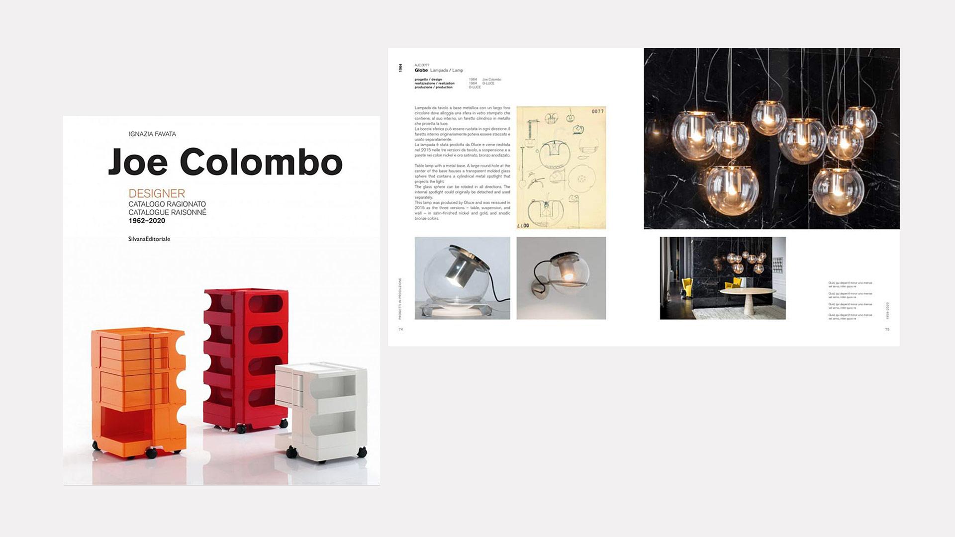 Oluce e Joe Colombo raccontati nel nuovo libro-catalogo di Ignazia Favata