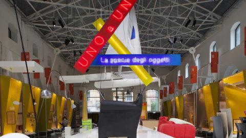 Spider and Atollo: the new Adi Design Museum hosts Oluce's Compasso d'Oro winners